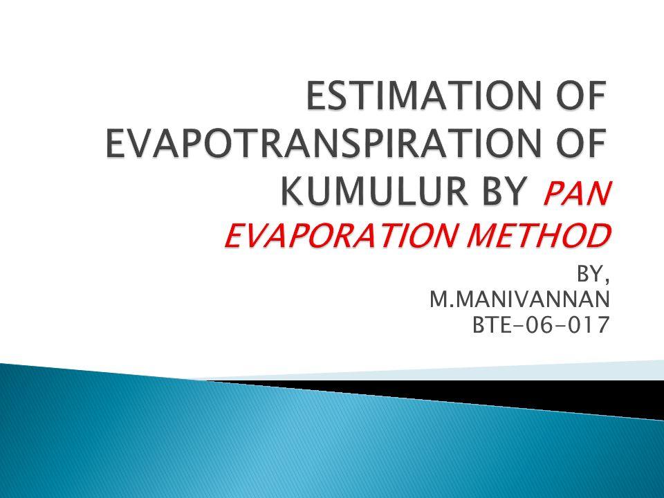 BY, M.MANIVANNAN BTE-06-017