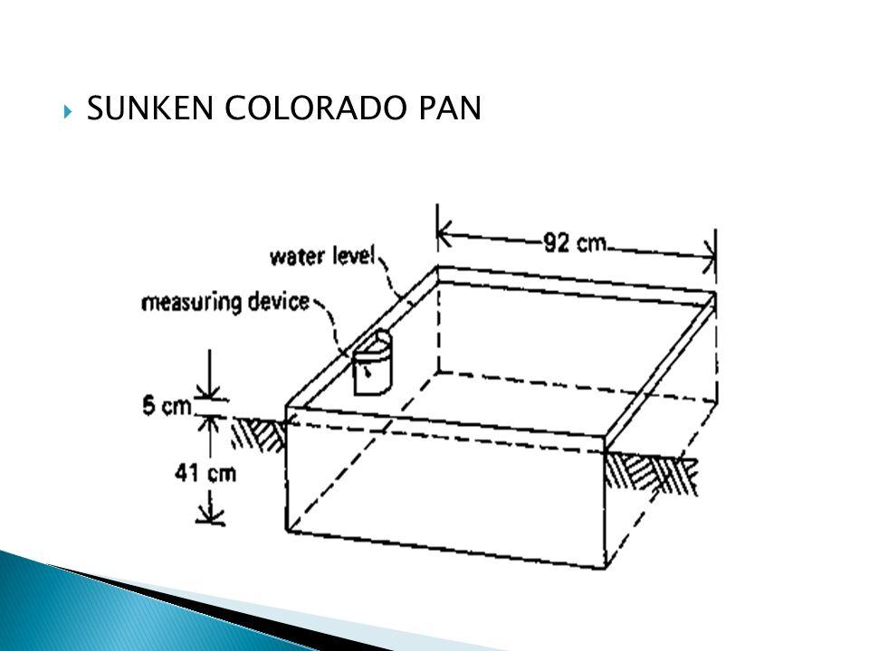 SUNKEN COLORADO PAN