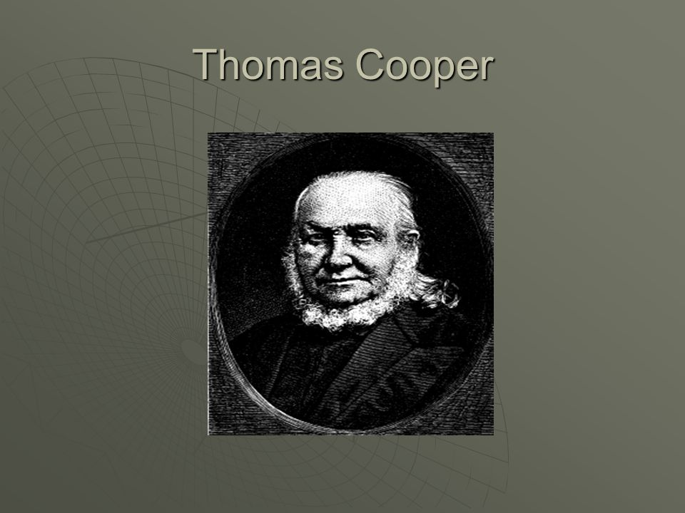 Thomas Cooper