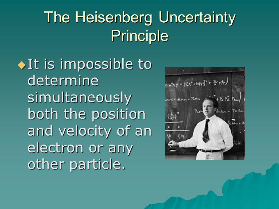 The Schrödinger Wave Equation Quantization of electron energies was a natural outcome of Schrödingers equation.