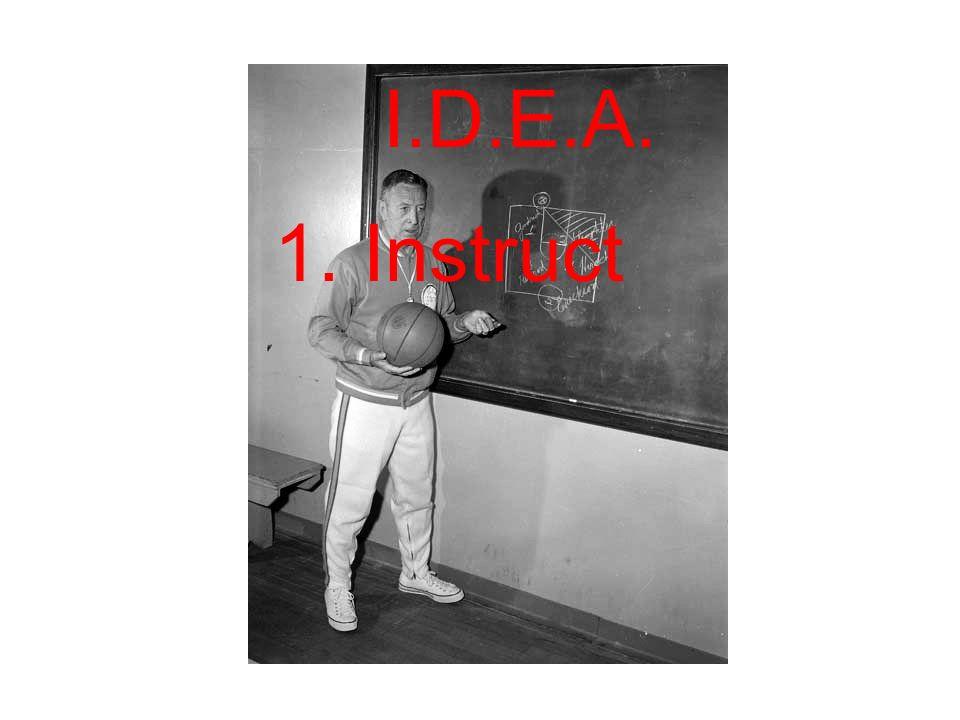 I.D.E.A. 1. Instruct