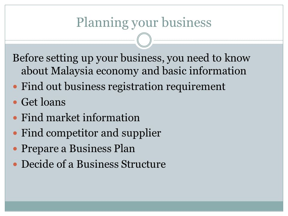 Content in Business Plan 5.