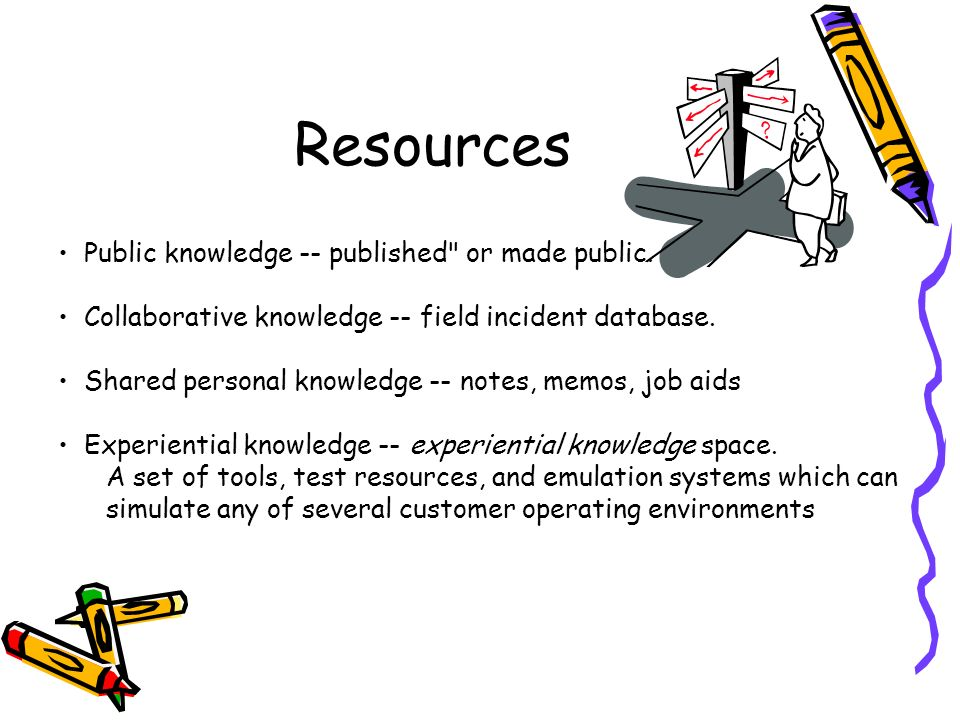 Resources Public knowledge -- published or made public.