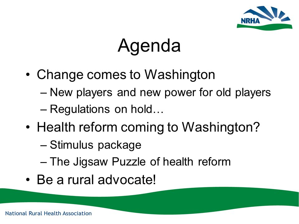 NRHA Mission The National Rural Health Association is a national membership organization with more than 18,000 members whose mission is to provide leadership on rural issues through advocacy, communications, education and research.