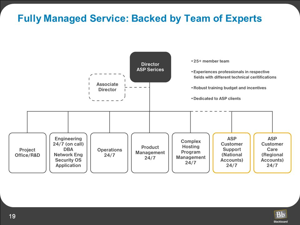 19 Fully Managed Service: Backed by Team of Experts