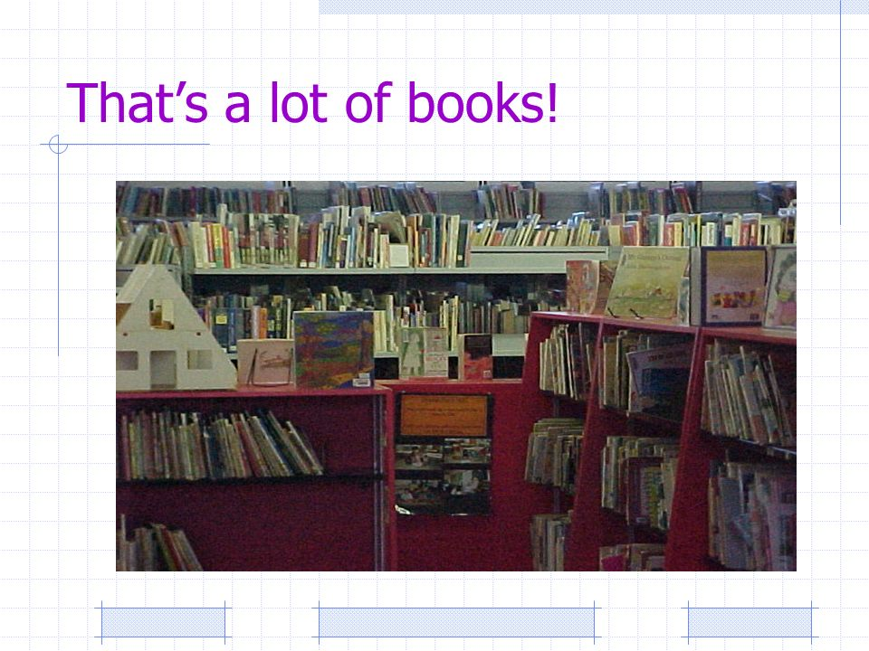 Thats a lot of books!