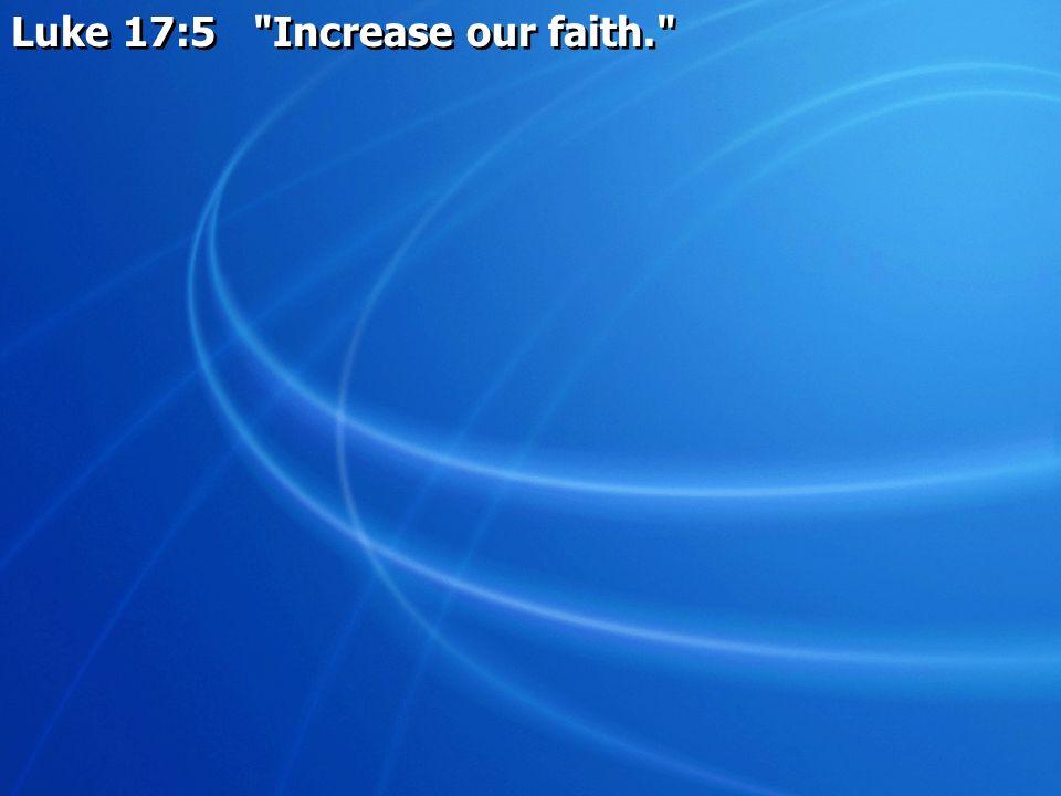 Luke 17:5