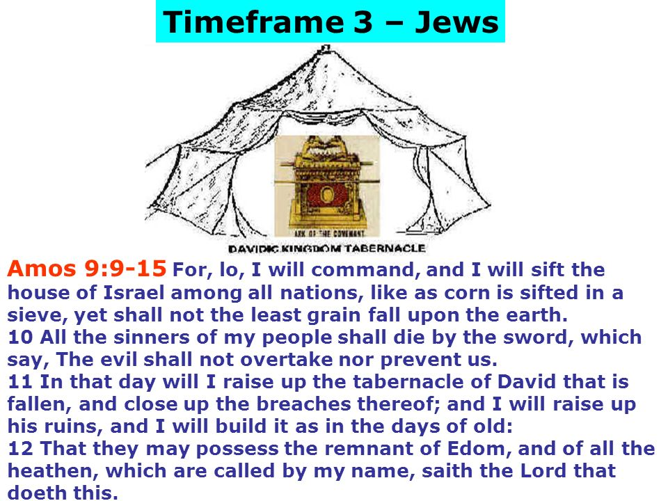 period - timeframe 4 or the Day of the Lord - timeframe 5 or be eternally lost in hell.