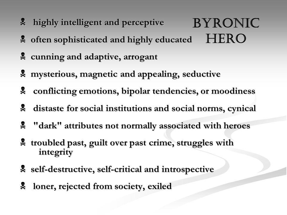 the byronic hero