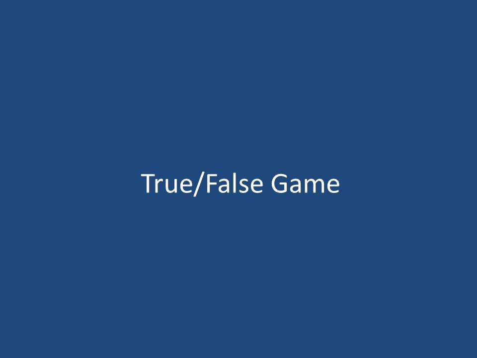 True/False Game