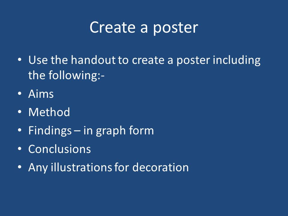 The remaining qualitative methods you are going to explore in groups Group 1 Ethnography Group 2 Unstructured/semi structured Interviews Group 3 Focus groups Group 4 Personal documents Produce a poster including description, examples and advantages and disadvantages of your method.