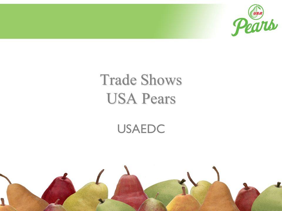 Trade Shows USA Pears USAEDC