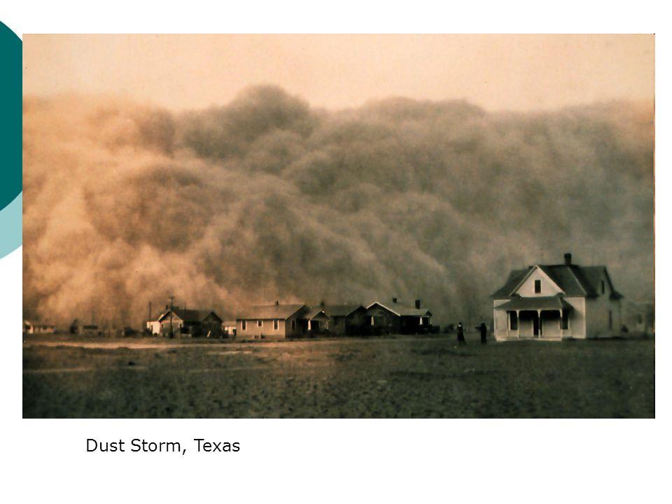 Dust Storm, Texas