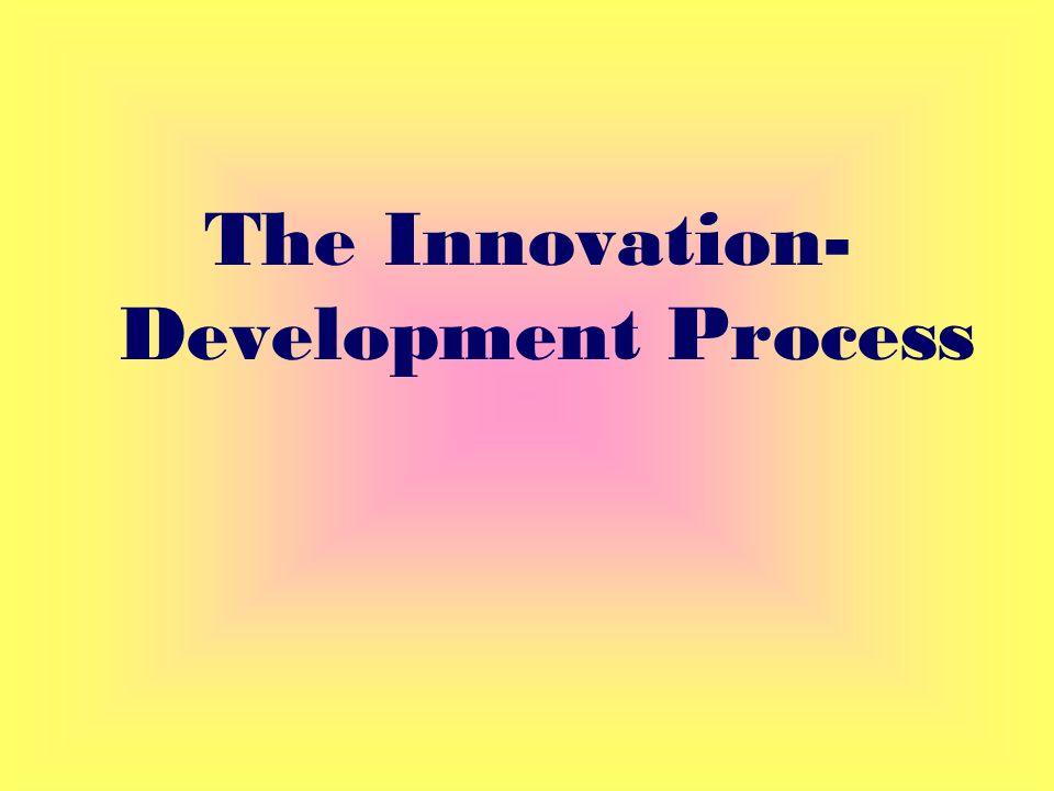 The Innovation- Development Process
