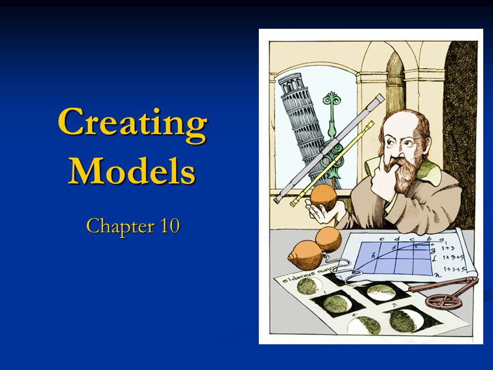 Creating Models Chapter 10