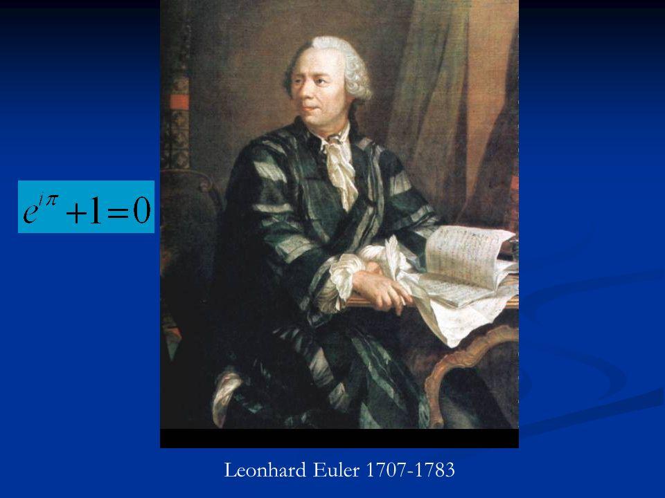 Leonhard Euler 1707-1783