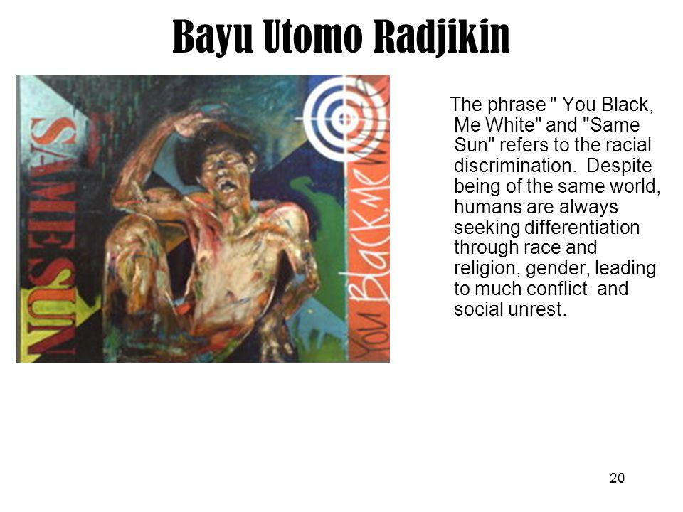 20 Bayu Utomo Radjikin The phrase