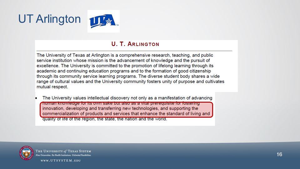 UT Arlington 16