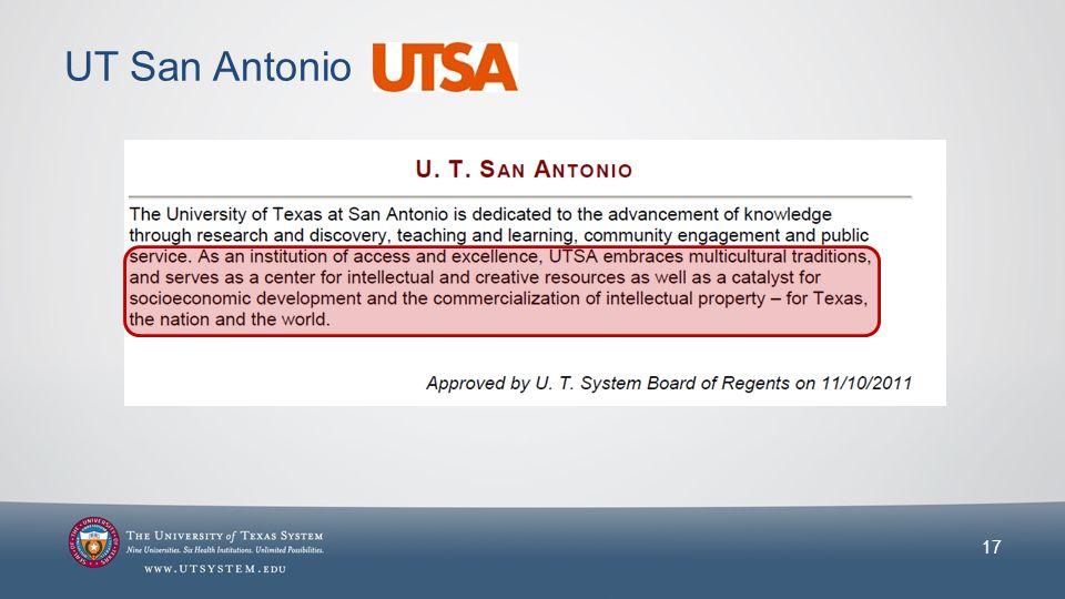 UT San Antonio 17