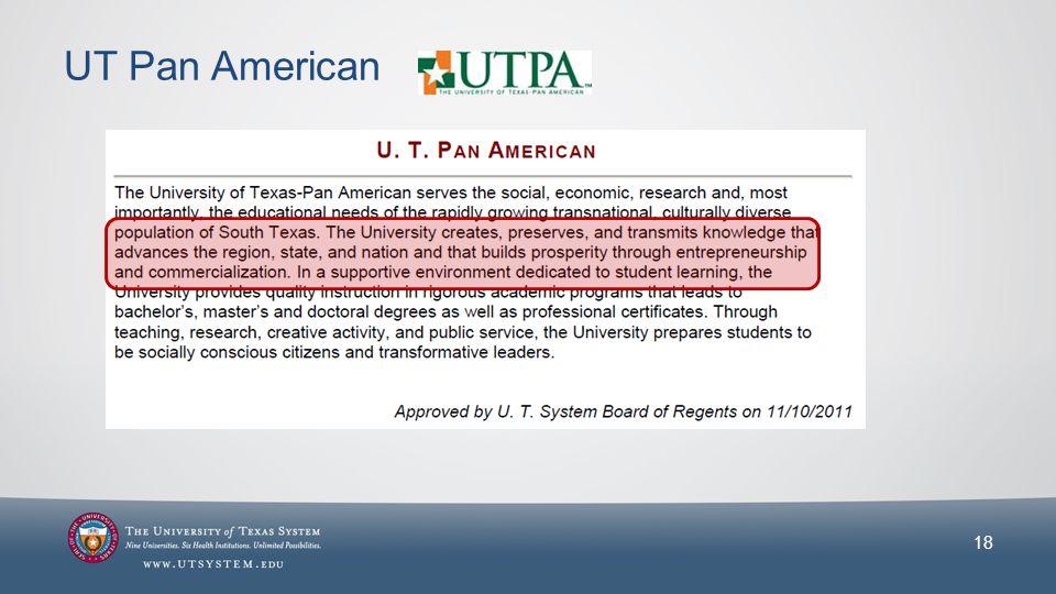 UT Pan American 18