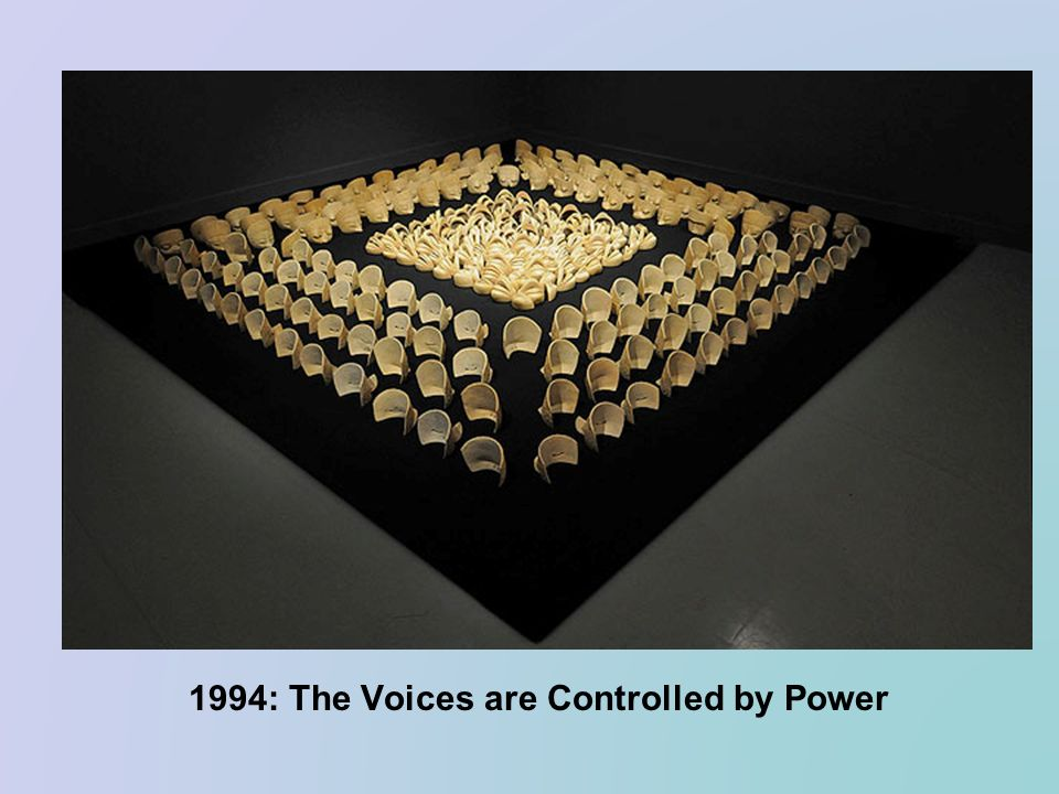 1994: The Voices are Controlled by Power