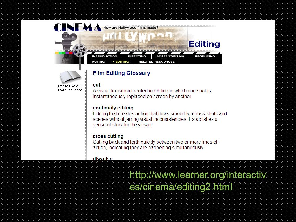 http://www.learner.org/interactiv es/cinema/editing2.html