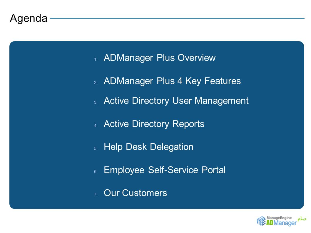 ADManager Plus Simplify Your Active Directory Management