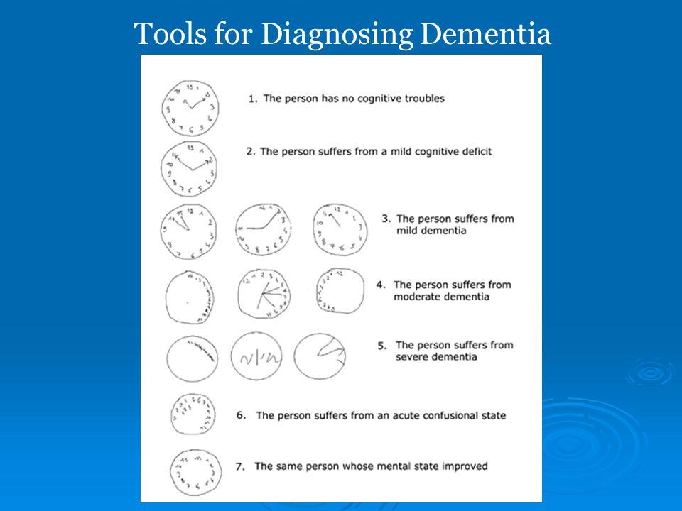 Tools for Diagnosing Dementia