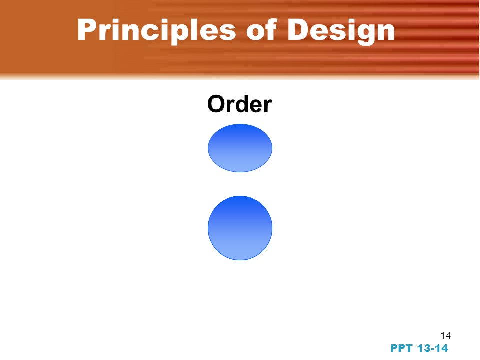 13 PPT 13-13 Principles of Design Proportion