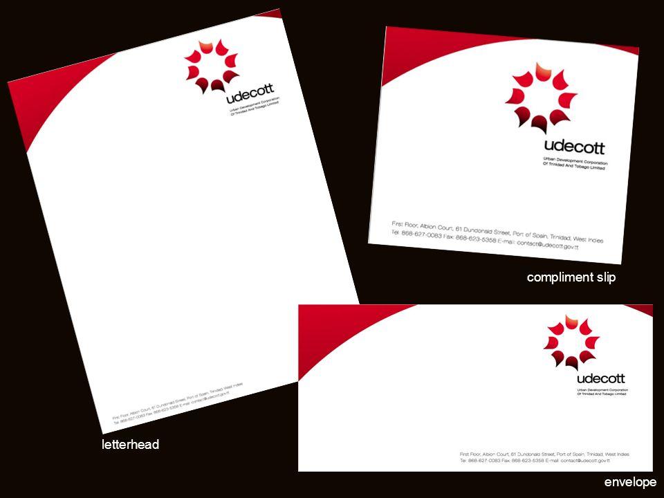 letterhead envelope compliment slip