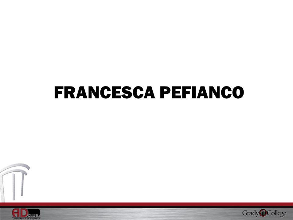 FRANCESCA PEFIANCO