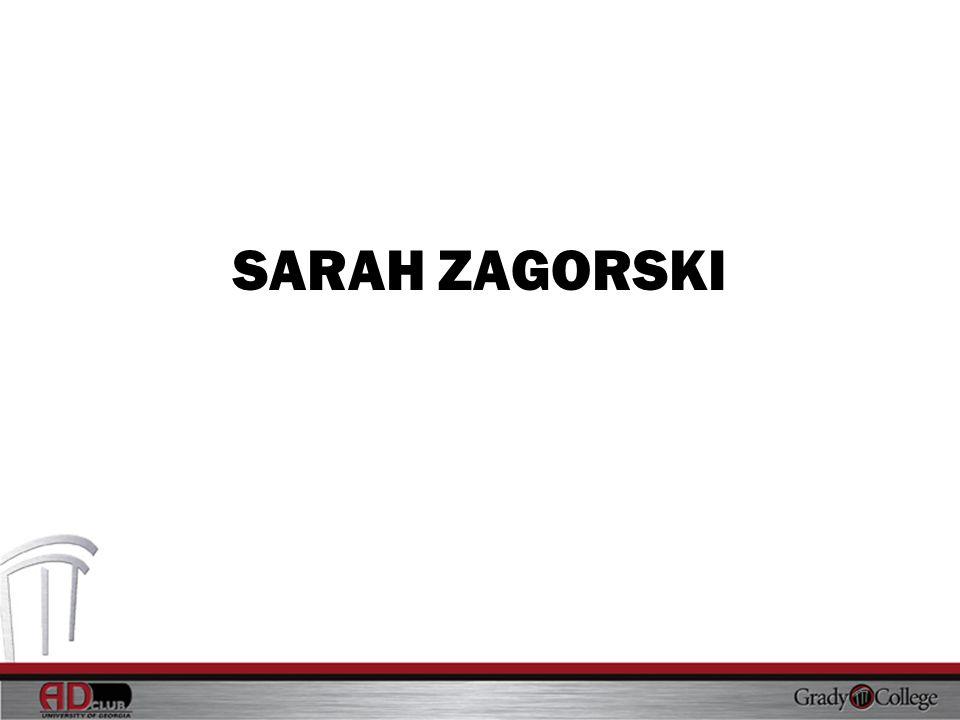 SARAH ZAGORSKI