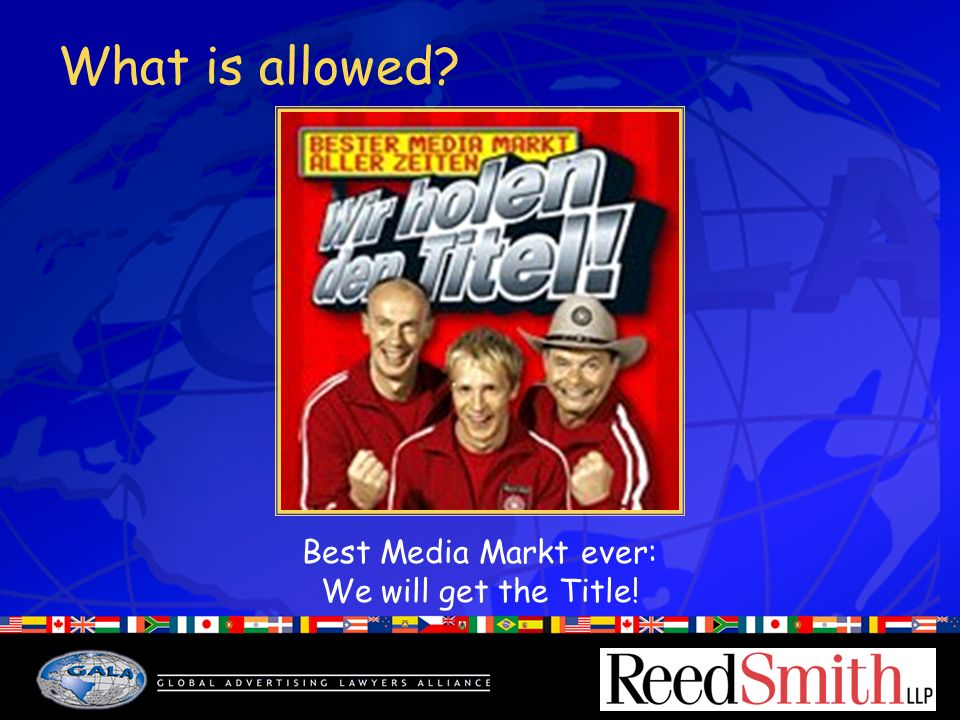 What is allowed? Best Media Markt ever: We will get the Title!
