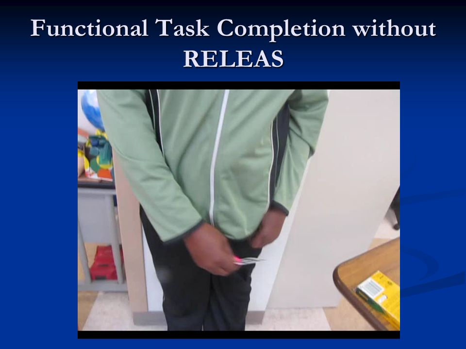 Functional Task Completion without RELEAS