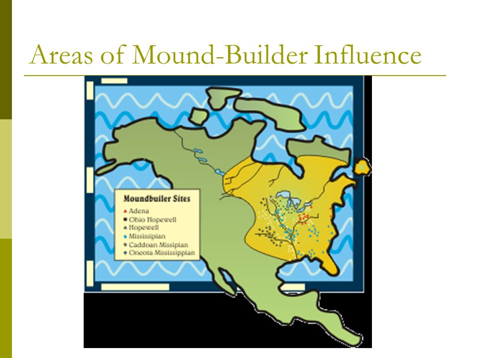 Areas of Mound-Builder Influence