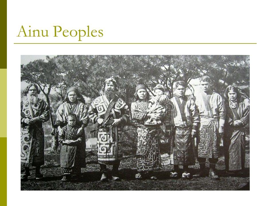 Ainu Peoples