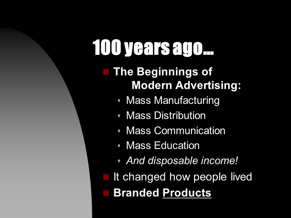 200+ years ago… n The Industrial Revolution s It changed how people lived and worked together.