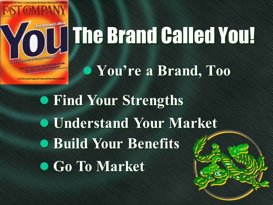 The Brand Called You.