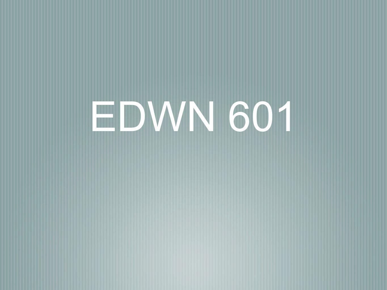 EDWN 601