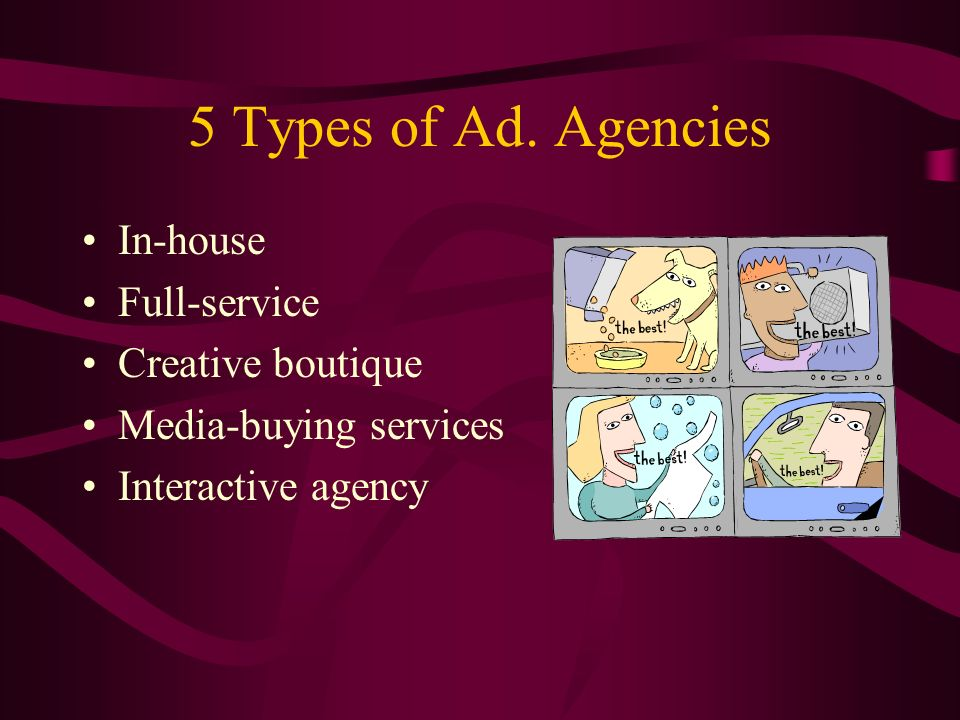 5 Types of Ad.