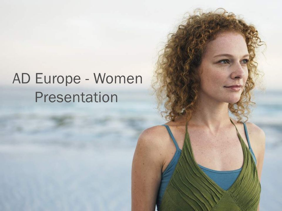 AD Europe - Women Presentation
