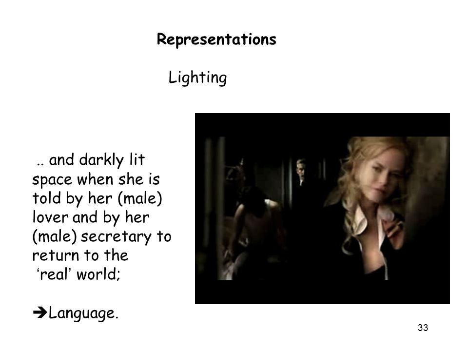 33 Lighting Representations..