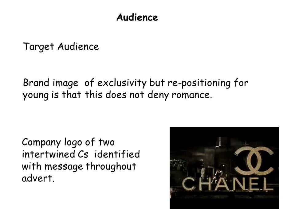 41 Audience Target Audience Brand image of exclusivity but re-positioning for young is that this does not deny romance.