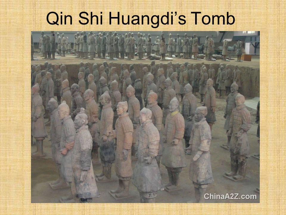 Qin Shi Huangdis Tomb