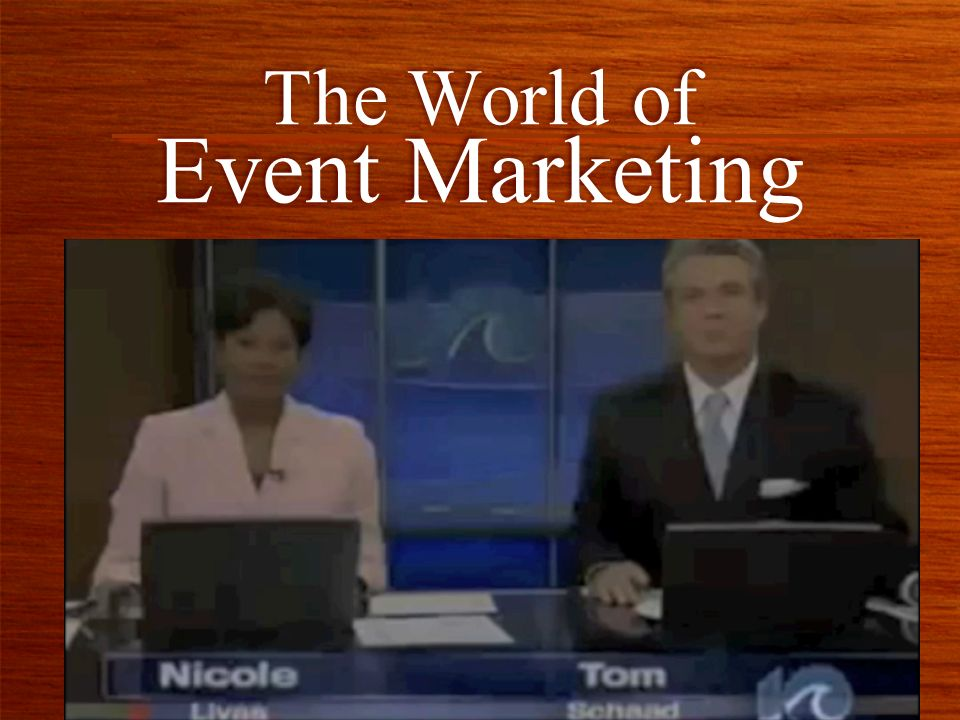 The World of Event Marketing