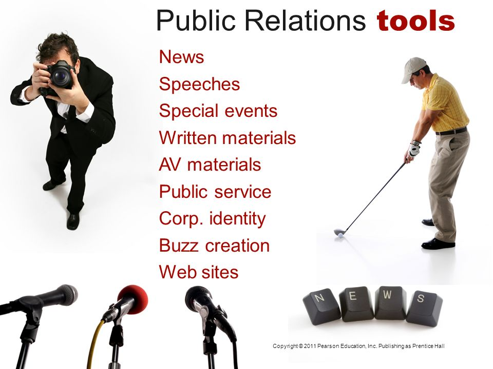 Public Relations tools News Speeches Special events Written materials AV materials Public service Corp. identity Buzz creation Web sites Copyright © 2