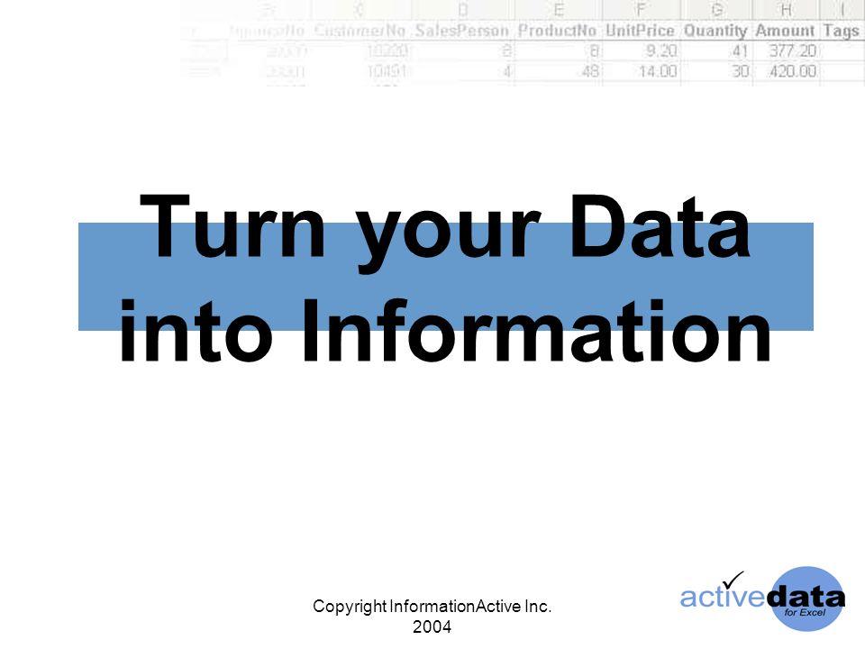 Copyright InformationActive Inc.
