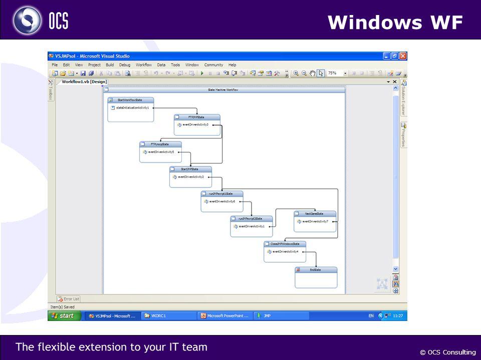 © OCS Consulting Windows WF