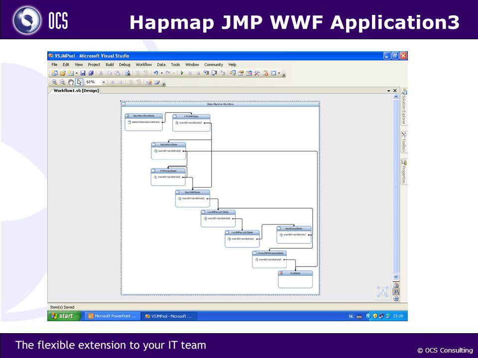 © OCS Consulting Hapmap JMP WWF Application3