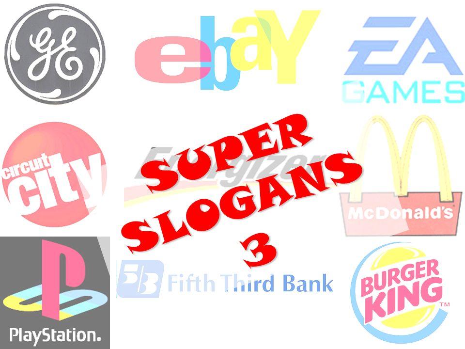 SUPER SLOGANS 3